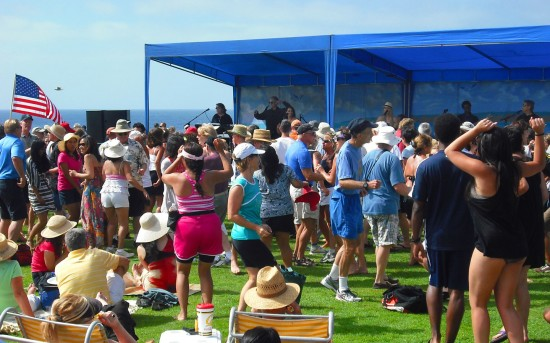 La Jolla Concerts By the Sea audiences LOVE to dance!