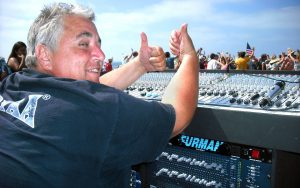 Soundman Sam Castellano, The Heroes 2011, Photo by Edward A. Sanchez