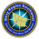 La Jolla Concerts By the Sea - Navy Region Southwest logo (image), Click to visit Band website