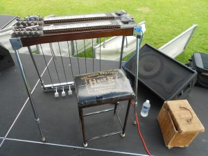 Pedal Steel Guitar, Bastard Sons of Johnny Cash, Photo by Edward A. Sanchez
