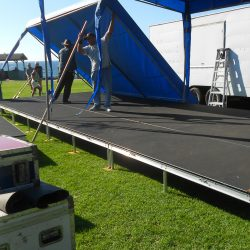 Tear-down, load-out, end of 2012 season. See you next year!