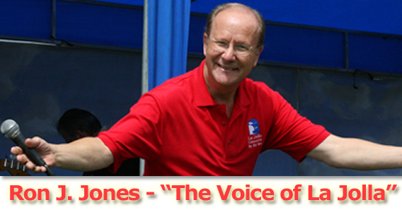"La Jolla Concerts by the Sea - Your Master-of-Ceremonies: Ron J. Jones, ""The Voice of La Jolla"""
