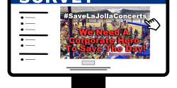 La Jolla Concerts By the Sea Audience Survey